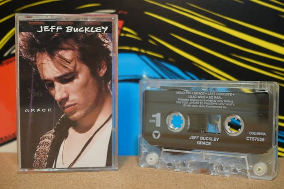 Grace by Jeff Buckley Vintage Cassette Tape
