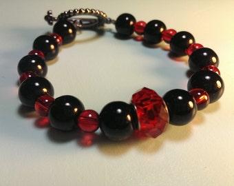 Hand Made Bracelet w/ Toggle