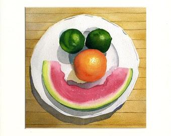 Joyful Fruit 6 (Painting)