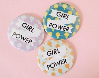 Mädchen-Power-Taschenspiegel