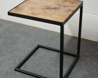 End Table Bent Plywood Side Table Wood End Table Bedside