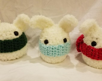 Tiny Crochet Soft Bunnies