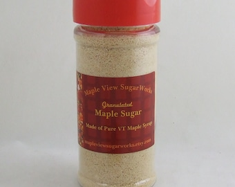 NEW : 5.5 oz Granulated Maple Sugar