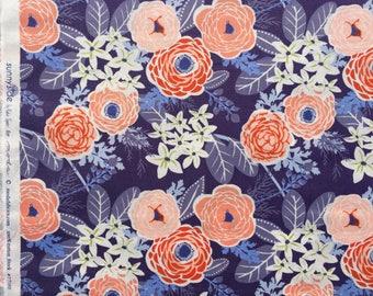Sunnyside Kate Spain buttercup twilight moda fabrics FQ or more