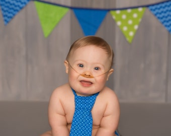 Boy Cake Smash Outfit Boy 1st Birthday Outfit Bow tie and