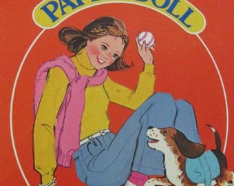 Golden Book Freckles Paper Doll Book Paperdoll 1981 Uncut