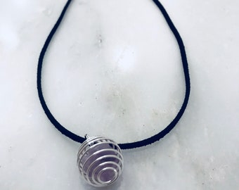 Amethyst Necklace Wire Trapped Chakra Reiki Crystal Jewlery Charged