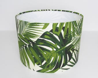 Leaves Lampshade Floral Botanical by Tempo