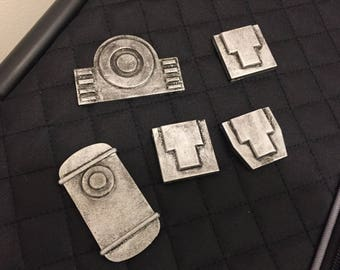 Fallout 4 Vault suit actuator/detail pieces RAW kit