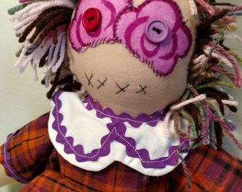 Soft and spunky rag doll