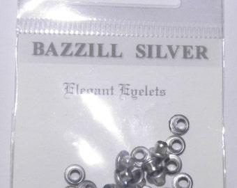 ON SALE  Bazzill Silver Eyelets
