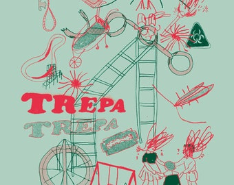 trepa trepa silk screen