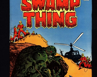 SWAMP THING #22, DC Comics, David Michelinie,Nestor Redondo, Gothic, Monster Horror Super-Hero,Alec Holland