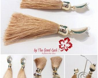 Tassel Earrings – Beaded earrings – Boho earring – Long Earrings – tassels jewelry – tassels earring – Boho Earrings woman