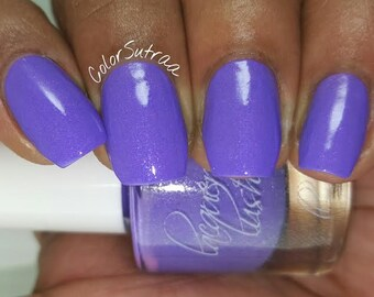 """shimmer nail lacquer: """"lilac lover"""""""