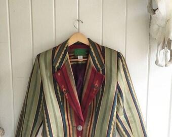 Wraps Western Jacket. Southwestern Style jacket.