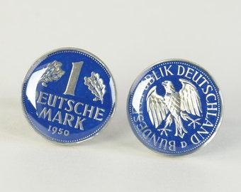 Cufflinks Coins Germany.Big Size