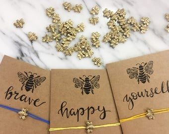 Bee Magical Wish Bracelets (Bee Happy)