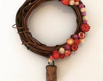 Custom Dried Flower Wreath (Medium)