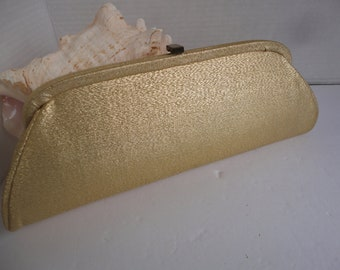Gold Lame' Evening Clutch