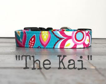 Colorful DOG COLLAR, Dog Collars, The Kai, Dog Collar, Cool Dog Collar