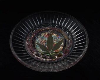 Real potleaf ashtray