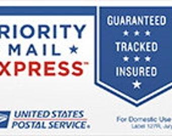 Express Mail Upgrade - USA and International