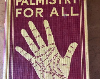 Vintage Cheiro's Palmistry for All Book 1958