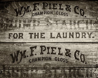 Sepia Laundry Decor, Sepia Print, Sepia Print, Sepia Art, Sepia Tone Print or Canvas Art, Laundry Room Art, Rustic Laundry Decor.
