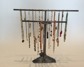 Double Row Tiered Jewelry Stand