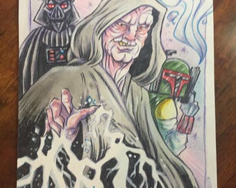 Revenge of the Sith Original Art