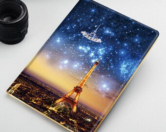 Case for iPad Air 1, iPad Air 2 and New iPad 2017- Theme Paris Tower