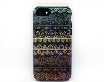 iPhone 8 Plus case, iPhone 5s case, iPhone 6 case, iPhone 7 case, iphone case, phone case, tough iphone case, iphone 7 cover - Boho