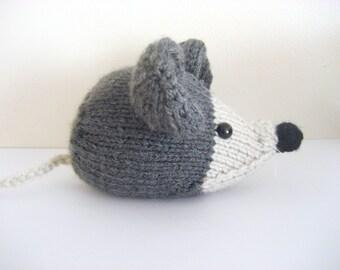 Amigurumi Knit Little Mouse Pattern Digital Download