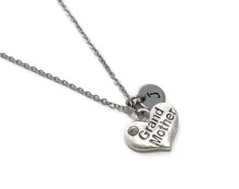 Grandmother Necklace, Grandma Necklace, Nana Necklace, Grandmother Jewelry, Grandma Jewelry, Nana Jewelry, Personalized Grandmother Gift