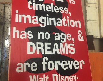 Walt Disney Quote Disney Family Sign