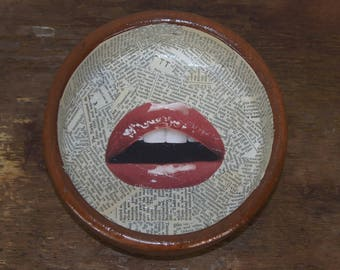 Hot Lips Key Holder/Bowl