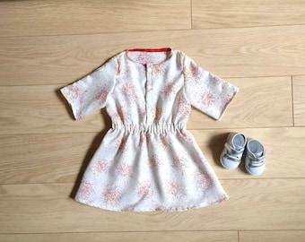 White confetti dress size 3T/4T, white dress 3-4 years, white dress with confetti 3T, white 4T dress, confetti dress 3 years, dress 4 years