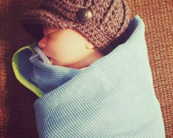 Infant Newsboy Hat