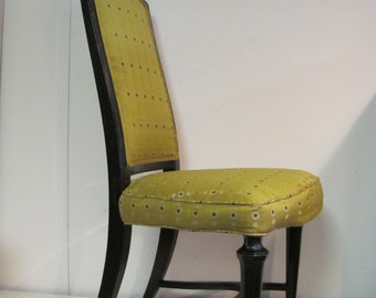 Vintage Bohemian High Back Accent Chair