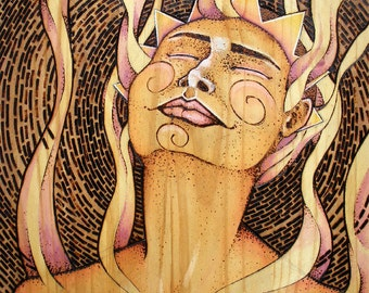 Bliss(sun) . Giclee Art Print