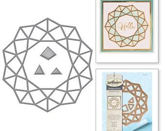 Spellbinders  Shapeabilities Geo Flower Kaleidoscope by Lene Lok Etched Dies S5-280