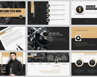 Simple Magazine Style PowerPoint Template04