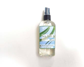 Sea Salt & Agave  Body Mist - 3 Types Body Mist, Shimmering Body Spray - Spray Mist - Perfumed Spray - 4oz