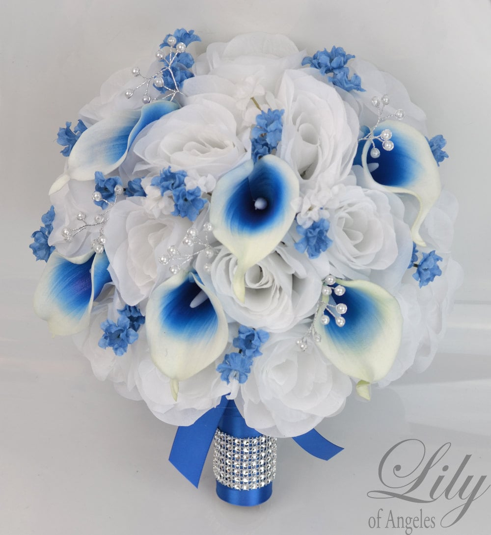 Wedding bouquet bridal bouquet bridesmaid bouquet silk zoom izmirmasajfo Images