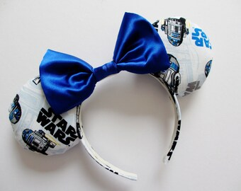 Star Wars R2-D2 Print Mouse Ears Headband