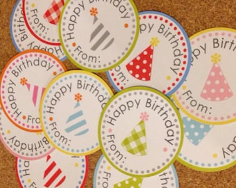 Birthday Labels Variety Pack