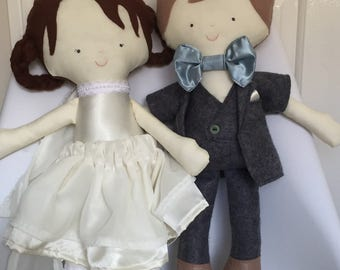 Bride & Groom Doll - Customised
