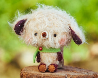 Teddy bear plushie stuffed toy - Made to order - Otto