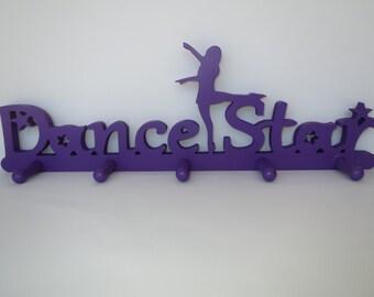 Dance Medal holder - Dancer medal hanger, dance, dancer gifts, dancer accessories, dance bedroom decor, dance gift, bedroom decor, purple